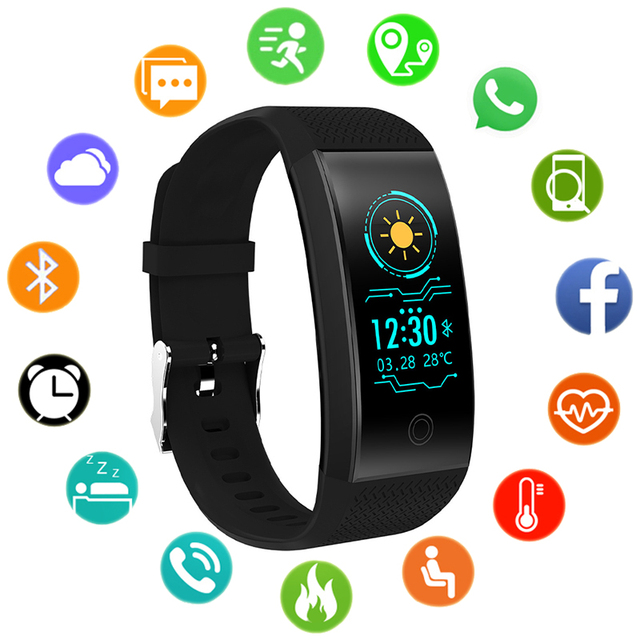 b28619afbbb Sport Bracelet Smart Watch Women Ladies Electronic Wristwatch LED Digital  Wrist Watches For Womens Clock Female Hours Tracker