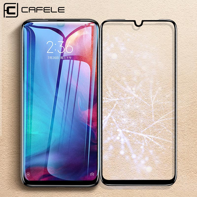Cafele Full Cover Tempered Glass For Redmi Note 7 8 Pro HD Clear Screen Protector For Redmi Note 7 8 Pro Glass Fingerprint-proof