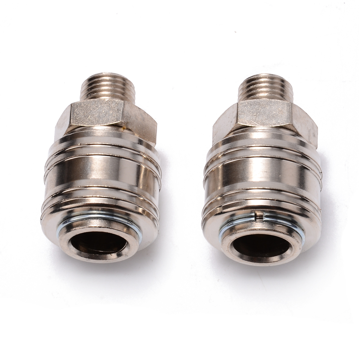 2pcs 1/4 BSP Male Line Hose Connector Euro Female Quick Release Fitting Coupling Set For Air Compressor 2pcs air line hose connector euro female quick release fitting with 1 4 bsp male thread mayitr for home tool accessories