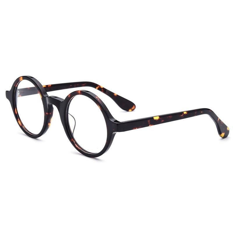 Top Quality Johnny Depp Glasses Men Women Acetate Eyeglass Frame Brand Design Computer Transparent Optical Glasses Frame S310