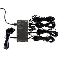 IR Remote Extender 8 Emitters 1 Receiver Infrared Repeater Hidden System Kit High Quality APE