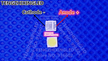 EVERLIGHT LED الخلفية عالية الطاقة LED 2 واط 3030 6 فولت كول الأبيض 165LM 62 123PAN3W/F155175MN7AS9C T تطبيق التلفزيون