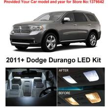 Интерьерная посылка, набор для Dodge Durango 2011& Up,, 15 шт., светодиодный фонарь, автомобильный стиль, Hi-Q
