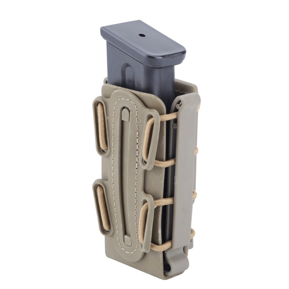 9mm Molle Pistol Mag Military Magazine Pouch Holster With Belt Clip Soft Shell Mag Pouch Fastmag Molle Pouch