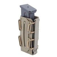 9mm molle pistola mag compartimento militar bolsa coldre com clipe de cinto macio concha mag malote fastmag molle|Malotes| |  -