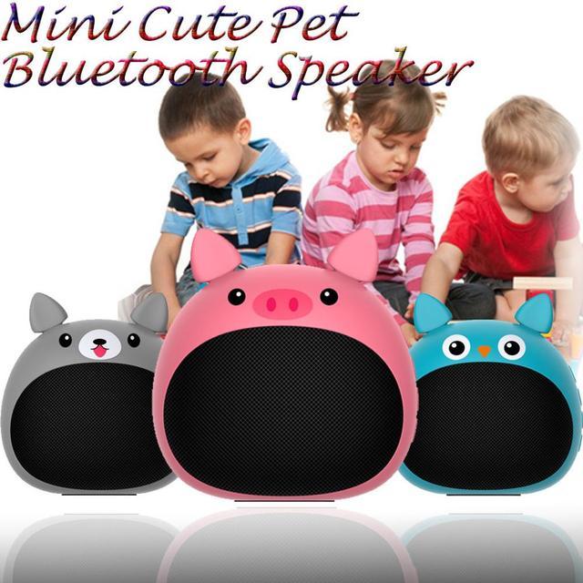 Zélot S28 véritable sans fil stéréo Mini Bluetooth Animal sans fil haut parleur pour enfants étanche, invite vocale, carte, radio,