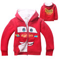 Cartoon Boy Coat Children Thick Warm Hooded Kids Winter Clothes Red Outerwear Baby Jacket  Thick Coat for Boys Winterjas Jongens