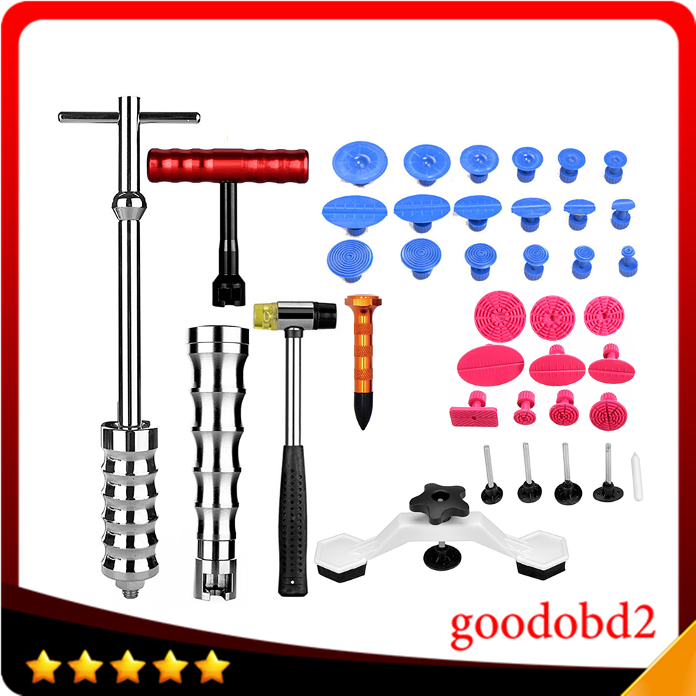 PDR Tool Car Dent Removal Ferramentas Paintless Dent Repair Tools Dent Puller 23x PDR Glue Tabs Hand Tool Kit for Car Paint Care super pdr tools dent removal pdr tool kit dent puller tabs hand tool set paintless dent repair tools