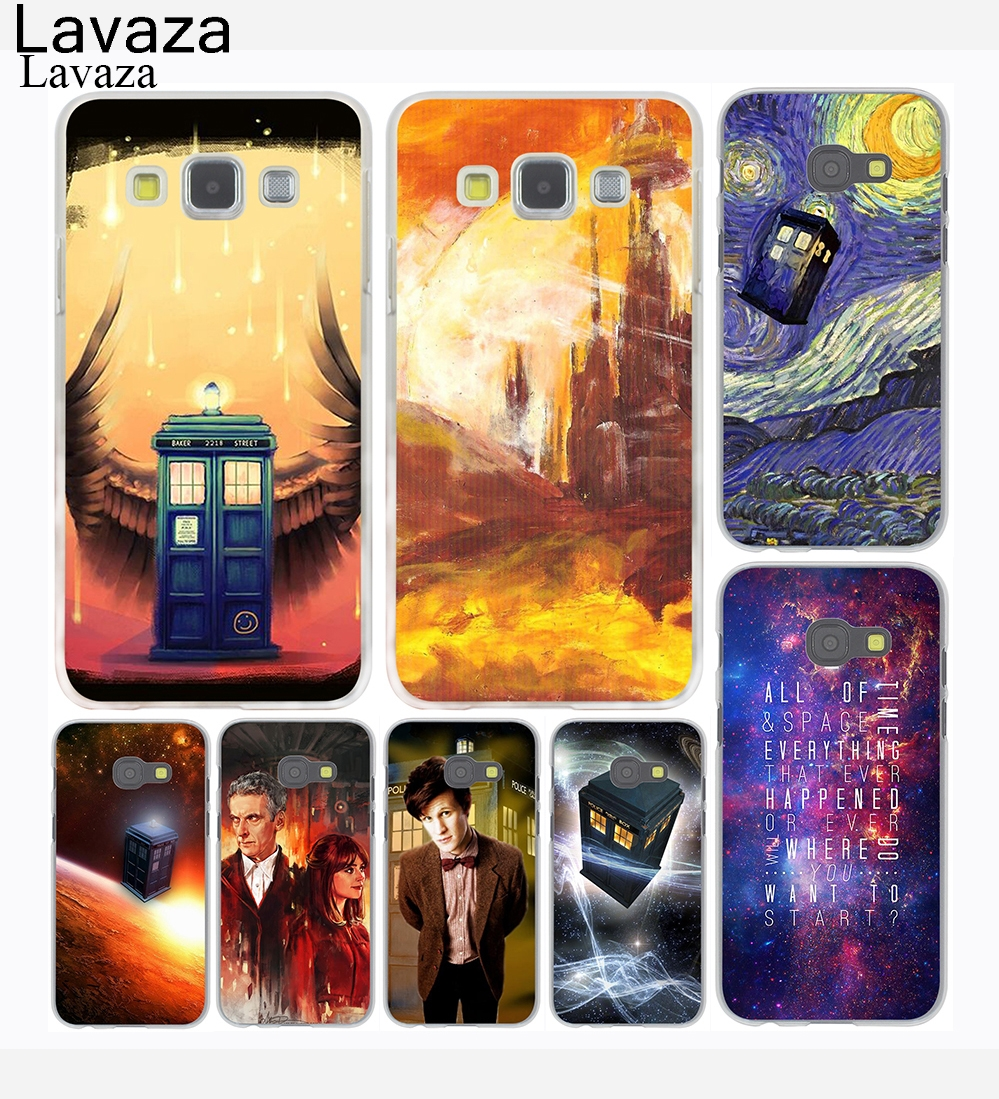 Lavaza Doctor Who Tardis series Pattern Hard Case for Samsung Galaxy A3 A5 J7 J3 J5 2015 2016 2017 Grand Prime Note 2 3 4 5