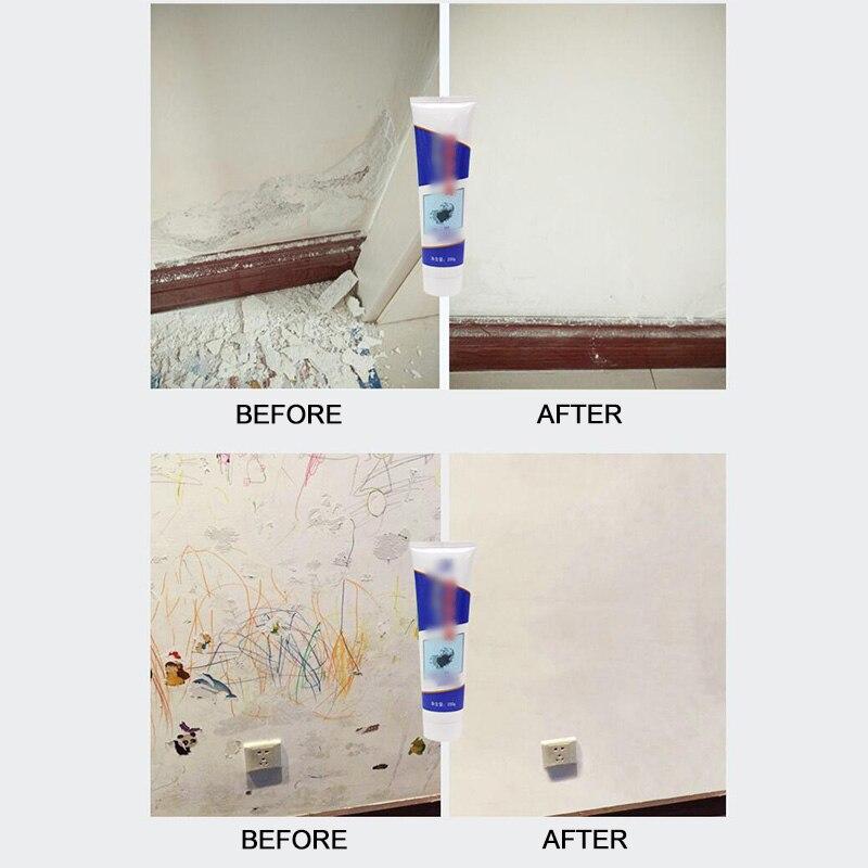 White Wall Repair Cream Latex Paint Waterproof Gypsum Wall Paint Repair Crack / Nail Eye / Greasy Powder / Easy To Operate