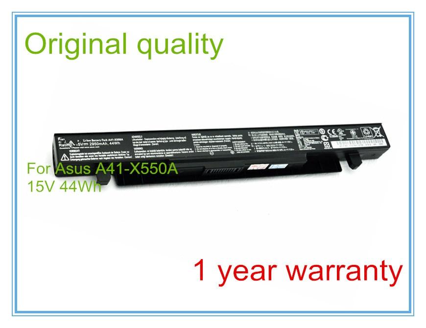 Original Battery For A41-X550A X550D X550C X550 X450C X550V A550 A41-X550 A41-X550A 4Cells 2950MAH for asus x550 x550v x550c c a550 x450 y581c palmrest c shell