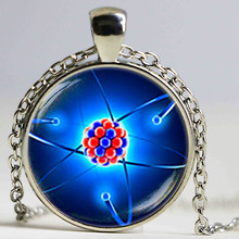 Newest Molecule Necklace Physics Jewelry Science Gift