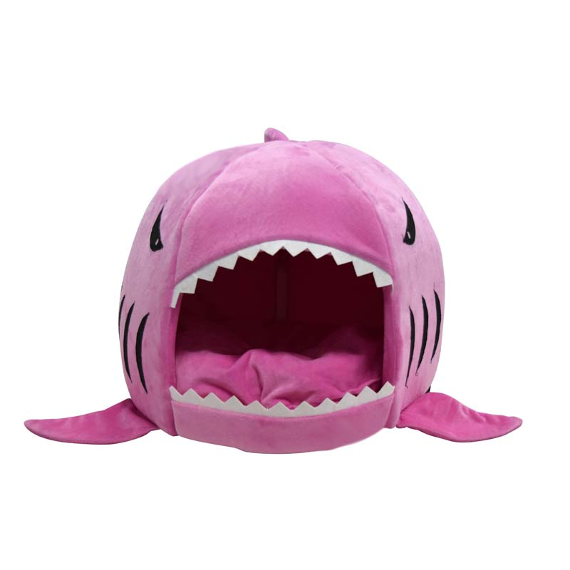 Shark Shaped Cat Bed