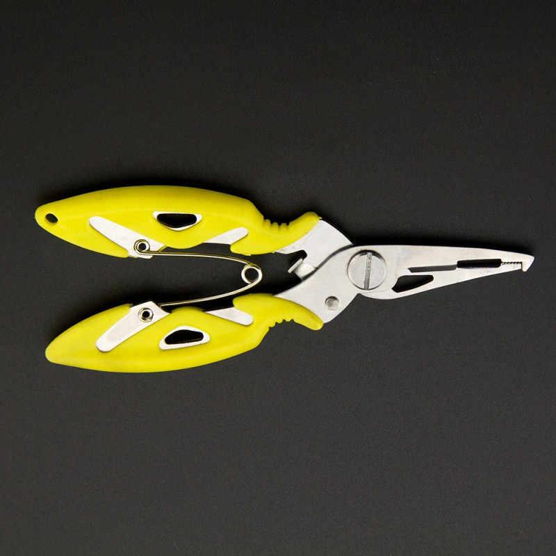 釣りプライヤーシザーブレイドラインルアーカッターフックリムーバタックルツール切断魚使用トングはさみ釣プライヤー 4 色 #2