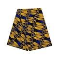 6 ярдов Воск голландский блок африканские Анкары женские принты в ткани красивый желтый дизайн 100% хлопок высокое качество V-L 412