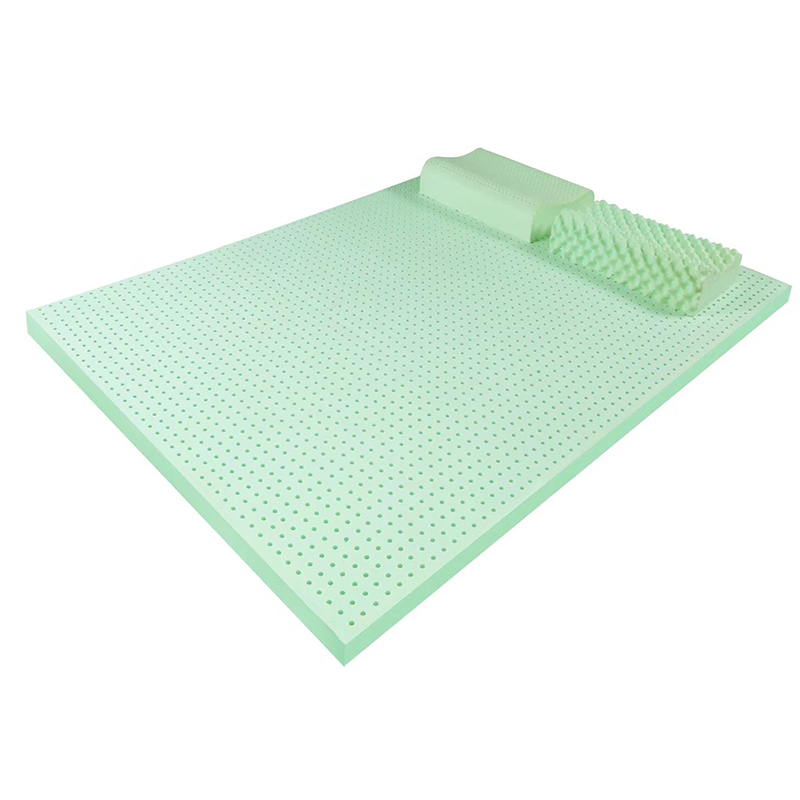 5CM Thickness 7 Zone Negative ion Natural Latex Mattress Tatami Mat Cervical Lumbar Relax Pressure Release Sleeping Bed Mattress wfgogo thickness 23 cm spring mattress twin high density vacuum compression foam latex soft bed bedding