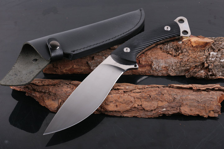 Newest Strider Knives 5CR13MOV Blade G10 Handle Outdoor Straight Knives Camping Fixed Knife Survival Rescue ToolsNewest Strider Knives 5CR13MOV Blade G10 Handle Outdoor Straight Knives Camping Fixed Knife Survival Rescue Tools