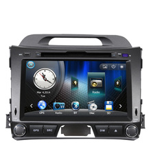 Free Shipping New Kia Sportage 2011 2012 2013 Car DVD Player with GPS Navigation with Bluetooth Radio AM FM Russia Navitel Map