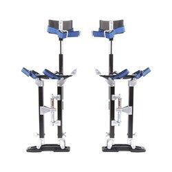 Алюминиевый Профессиональный штукатурный Stilt лестница гипсокартон штукатурка Stilt краска художник DIY инструмент аксессуар от 24 до 40 дюймов р...