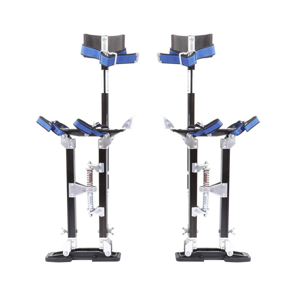 Aluminum Professional Plastering Stilt Ladder Drywall Plaste Stilt Paint Painter DIY Tool Accessory 24 To 40 Inch Adjustable