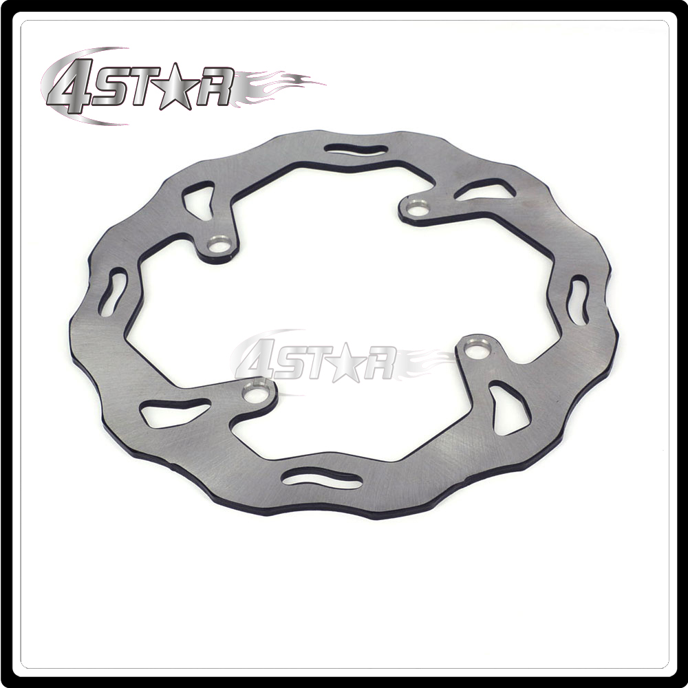 Motorcycle 240MM Rear Brake Disc Rotor For KAWASAKI KX125 KX250 2003-2008 KX250F 2004-2017 KX450F 06-17 KLX450R 08-15 for kawasaki kx125 klx250 kdx200 kdx225 kdx250 motorcycle rear brake disc brake disks motorcycle parts