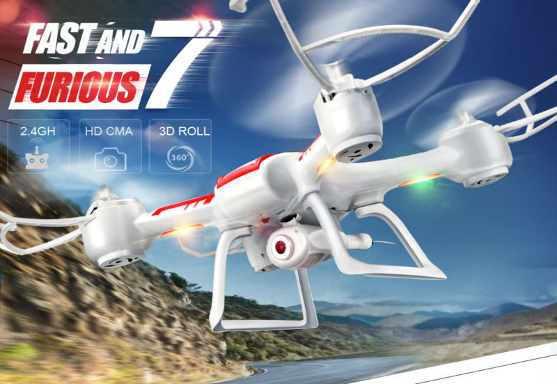 Syma X55 X55C X55G 2.4G 4CH 6 Axis Remote Control Quadcopter Original Drone with HD Camera Dron RC UAV
