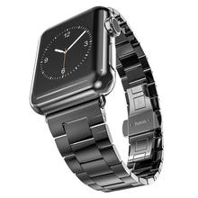 Самые популярные носо пистолет цвет нержавеющей стали для Apple , часы 38 / 42 мм