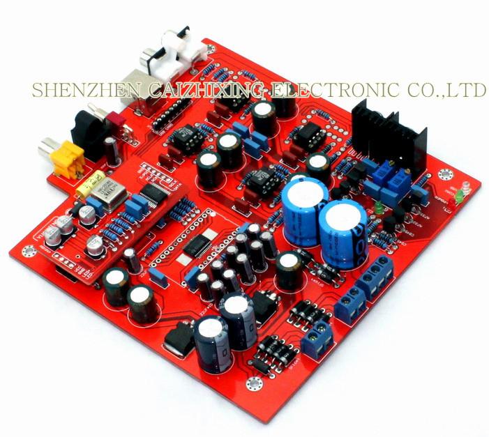 Free-Shipping-PCM1794-WM8805-DAC-decode-board-Decoder-not-including-USB-card- (2)