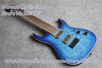 Hot Sale China 7 Strings Suneye Jackson Electric Guitar In Blue Quilted Finish & LP SG ES Guitar Available