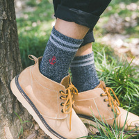 Winter Thickening Warm High Grade Cashmere Men S Tube Socks Harajuku Fashion Trend Wool Socks 5pairs