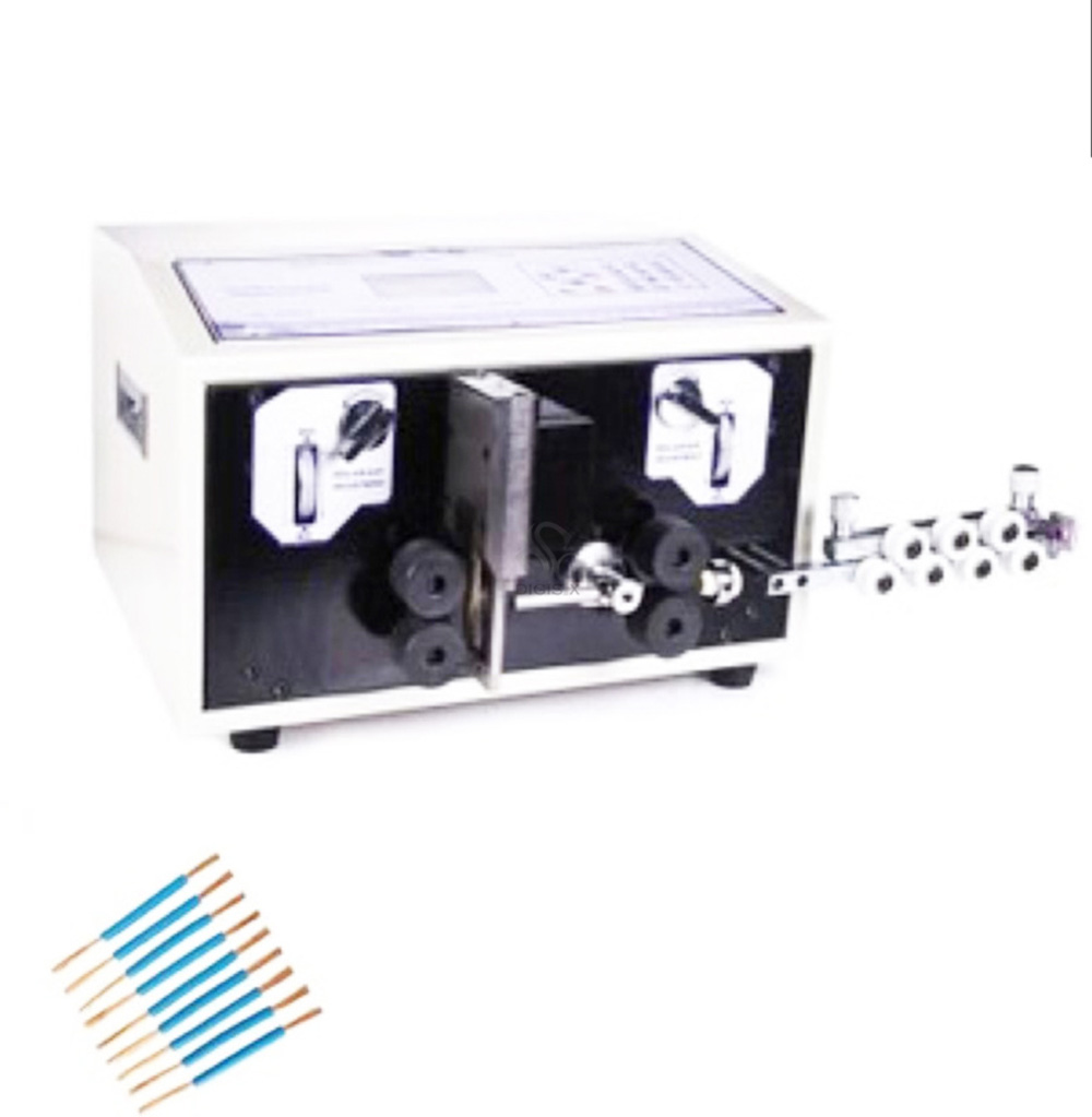 Free shipping SWT 508E 8mm2 blade type automatic stripping machine ...