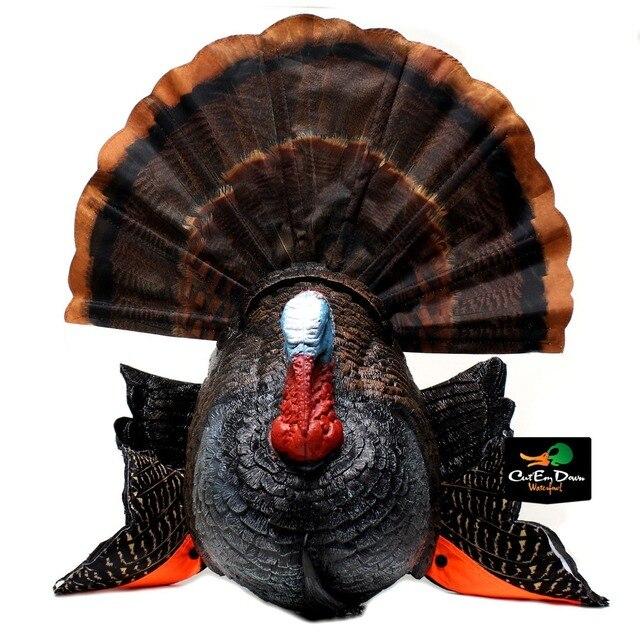 mojo outdoors scoot and shoot turkey fan motion decoy blind hide jake gobbler
