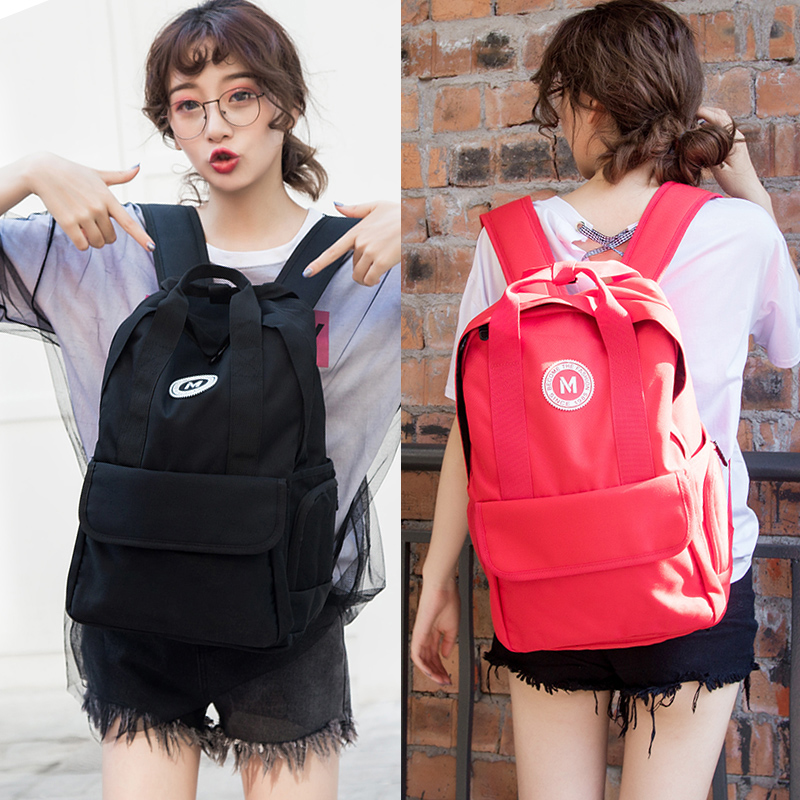 2018 new Backpack Army female Korean version of the shoulder bag college casual student bag fashion trend travel backpack2018 new Backpack Army female Korean version of the shoulder bag college casual student bag fashion trend travel backpack