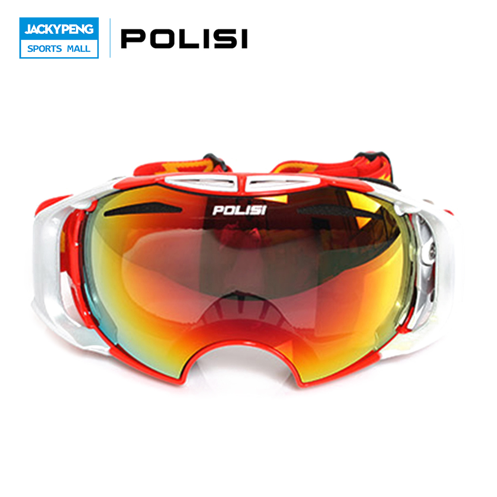 New Style POLISI Replaceable Lenses Winter Outdoor Sport Ski Snow Snowboarding Goggles Skate Sled Windproof Glasses Eyewear topeak outdoor sports cycling photochromic sun glasses bicycle sunglasses mtb nxt lenses glasses eyewear goggles 3 colors