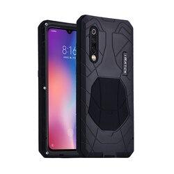 IMATCH oryginał dla Xiaomi Mi8 Mi9 etui na telefon twarde aluminium Metal Protector pełna osłona pancerz Heavy Protection Duty Shockproof