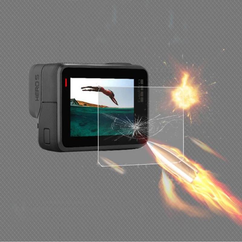 Gehard film voor Gopro Hero 6 5 Protector Gehard scherm voor Go Pro - Camera en foto