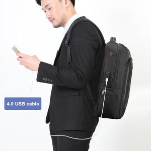 Image 5 - Tigernu Bag Set Water Resistant Backpack Men with USB Charging Headphone Crossbody Bags for Women 2019 Shoulder Bag for Teens