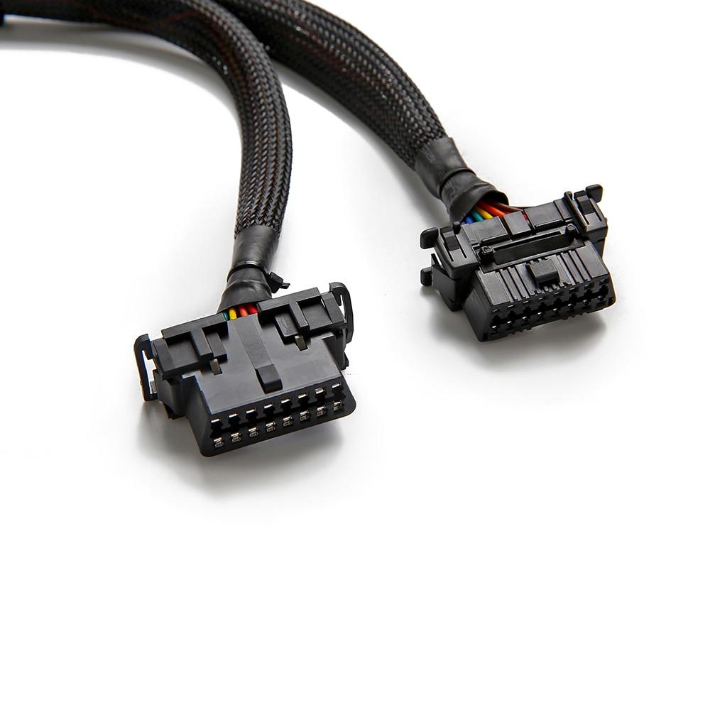 Bbfly B6 OBD II OBD2 16Pin Splitter Verlängerung 1x Stecker und 2x ...