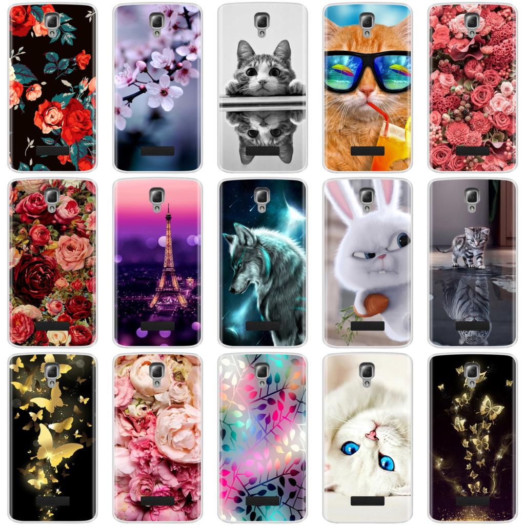 Soft TPU Painted Case For Lenovo A2010 A 2010 4.5