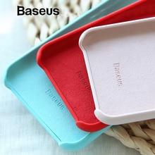 Baseus кожаный чехол для iPhone Xs Max Coque Удобная супер тонкая задняя крышка для iPhone XR Xs крышка 6,5 дюймов телефон Capa