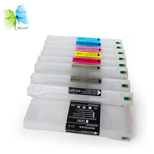 700ml T6361-T6369 Empty Refill Ink Cartridge For Epson 7890 9890 + Free chip resetter
