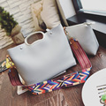Bailar shoulder messenger bags women handbags famous brand composite bag totes Widened color shoulder strap High quality leather