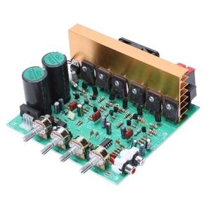 Image 4 - Аудио усилитель доска 2,1 канала 240 Вт высокой мощности Мощность сабвуфер усилитель доска Ампер Dual Ac18 24V дома Театр