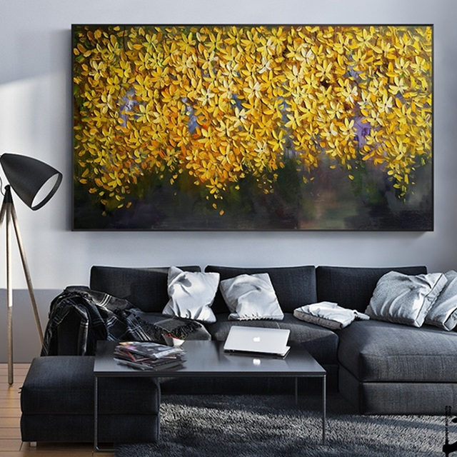 Amazing Us 22 8 40 Off Handmade Oil Painting On Canvas Modern 100 Best Art Modern Abstract Oil Painting Original Directly From Artis Ak1 001 In Painting Home Interior And Landscaping Ologienasavecom