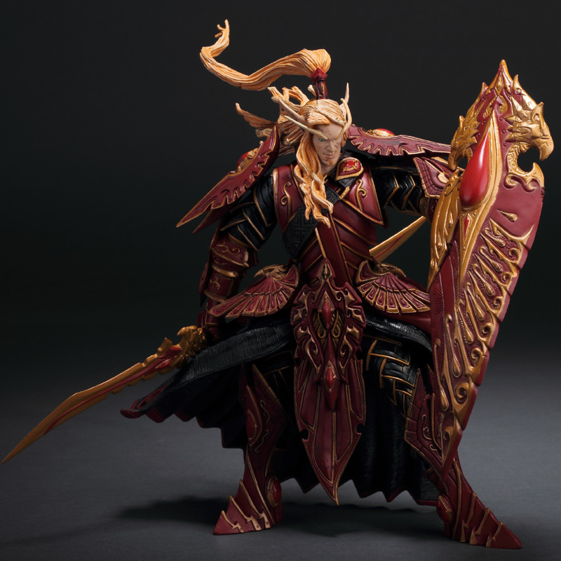 8 Blood Knight Bloodelf Kaelthas Sunstrider Father Anasterian Sunstrider PVC Action Figure Collectible Model Toy BOX 20CM8 Blood Knight Bloodelf Kaelthas Sunstrider Father Anasterian Sunstrider PVC Action Figure Collectible Model Toy BOX 20CM