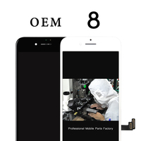 Great Quality OEM 100 No Dead Pixel 2 Pcs Display For IPhone 8 LCD With Touch