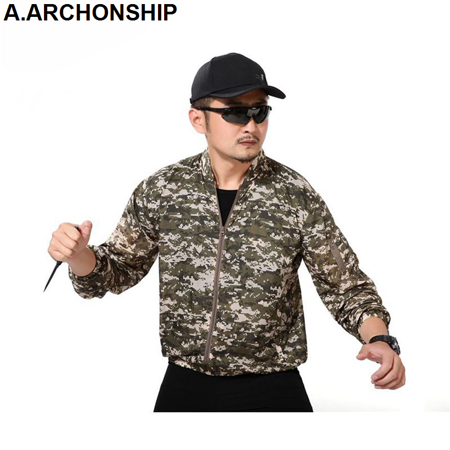 Men Summer Thin Tactical Skin   Trench   Waterproof Quick Dry Army Military Jackets UPF 50+ Breathable Raincoat Windbreaker