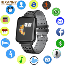 T2 Smart watch IP68 Waterproof Heart Rate Blood Pressure oxygen monitor Smartwatch Bluetooth smart band for Android IOS
