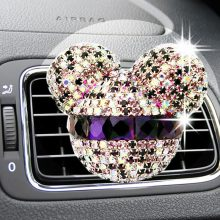 car-styling Bling Car Air Freshener Crystal Car Perfumes 100 Original Women parfum Air Conditioning Vent Flavoring In the Car