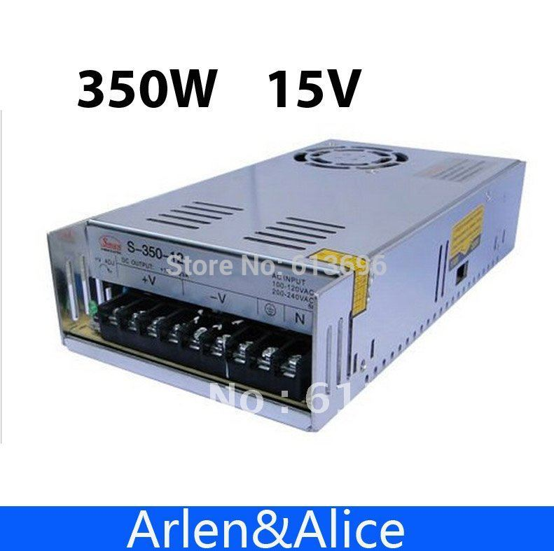 350W 15V 23.2A Single Output Switching power supply for LED Strip light AC to DC 350w 60v 5 8a single output switching power supply ac to dc for cnc led strip